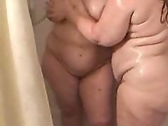 Bbw of age milfs shower