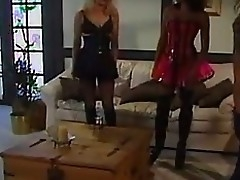 Dominating Milf Orgy Dark Hole with regard to Boots  and  Breathe hard